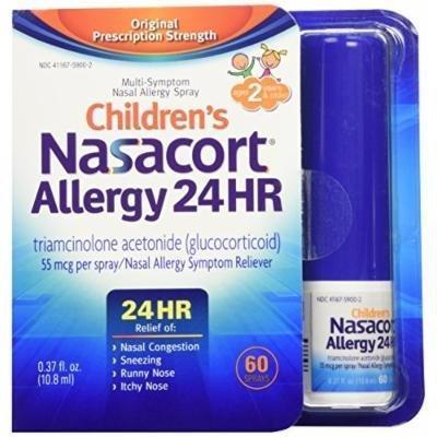 Nasacort Children's Allergy Spray, 0.38 Fluid Ounce