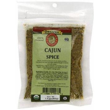Aromatica Organics Salt Free Cajun Spice Blend, 1.5-Ounce