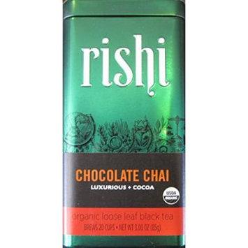 Rishi Tea Chocolate Chai, 3-Ounce Box (Pack of 3)