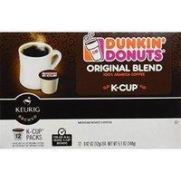 Dunkin Donuts K-Cups in Keurig Coffee Brewers, Original, 48 Count