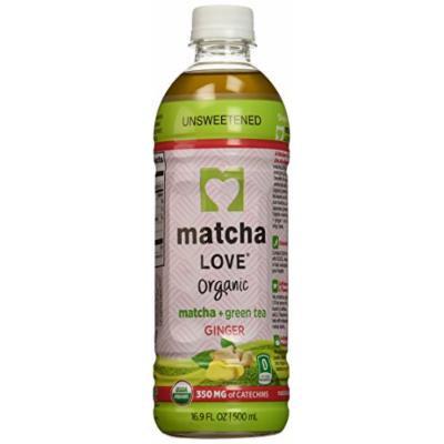Ito En Matcha Love Organic Matcha and Green Tea, Ginger, 16.9 Ounce (Pack of 12)