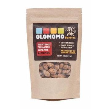 Olomomo Nut Almond Cnnmn Cayenne 4 Oz