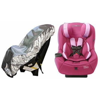 Maxi-Cosi Pria 70 Convertible Car Seat with Easy Clean Fabric and Sun Shade, Sweet Cerise