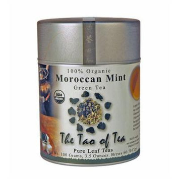 The Tao of Tea, Moroccan Mint Green Tea, Loose Leaf, 3.5-Ounce Tins (Pack of 3)