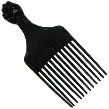 Afro Hair Pick - 6 pieces, Detangler, detangle, hair comb, thick hair, thin hair, long hair, short hair, professional comb, styling comb, adults and kids, won't hurt your scalp, won't pull on your hair, curly hair
