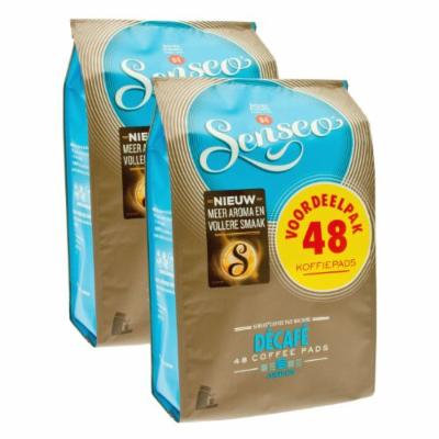 Senseo Decaffeinated Coffee Pods 96-count Pods 2 X 48 Pack