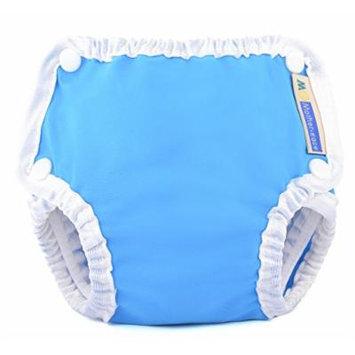 Mother-ease Swim Diaper (Medium, Blue)