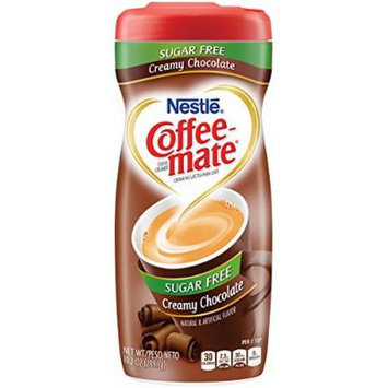 Coffee-mate Sugar Free Creamy Chocolate Powdered Coffee Creamer, 10.2 Ounce