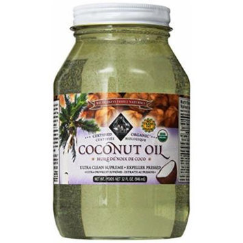 Coconut Oil, Expeller Pressed, Certified Organic, 32 Fl. Oz.
