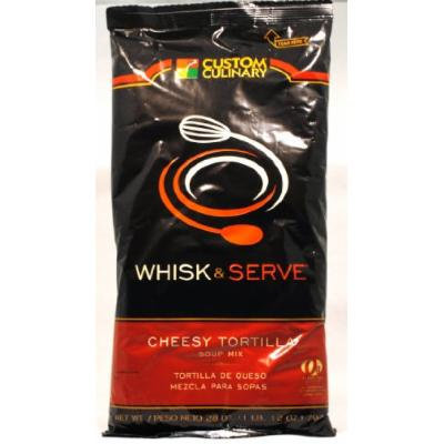 Custom Culinary Whisk and Serve Soup Mix, Cheesy Tortilla, 28 Ounce