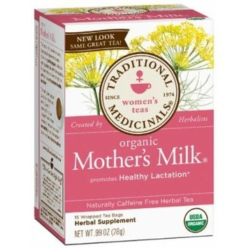 Traditional Medicinals Organic Mothers Milk Tea - Caffeine Free - 16 Bags
