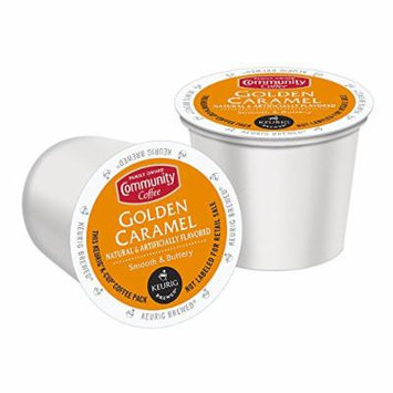 Community Coffee Golden Caramel, K-Cup for Keurig Brewers, 12 Count (Pack Of 6)