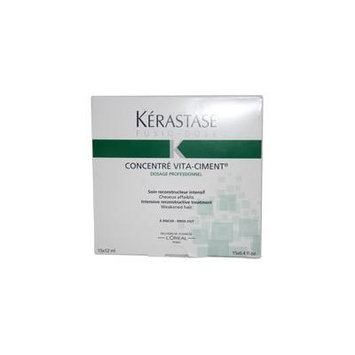 Fusio Dose Concentre Vita Ciment Treatment by Kerastase for Unisex - 15 x 0.4 oz Treatment