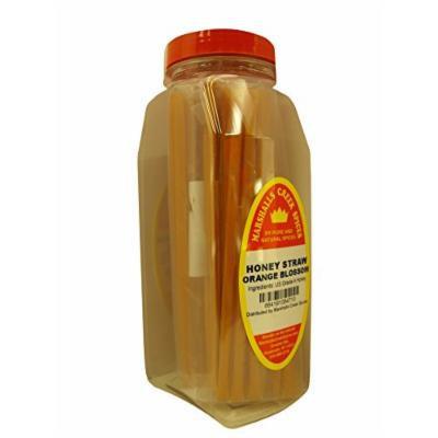 Marshalls Creek Spices Honey Straws, Orange Blossom, 8.82 Ounce