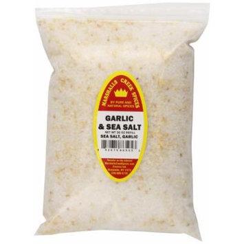 Marshalls Creek Spices Refill Pouch Blend Seasoning, Garlic and Sea Salt, XL, 36 Ounce