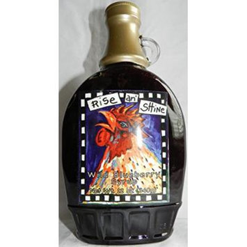 Wild Blueberry Syrup from Gullah Gourmet 12 fl oz. (340g),