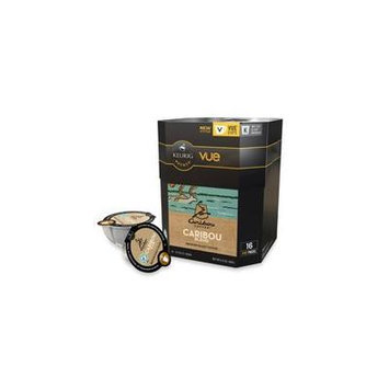 16 Count - Caribou Blend Vue Cup Coffee For Keurig Vue Brewers
