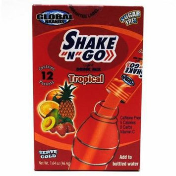 Shake N Go Light Tropical Drink Mix (4 Pack)