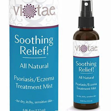 100% Natural Psoriasis-Eczema Treatment Healing & Relief Mist - Gentle, Fast Acting - 'Soothing Relief!' by Vi-Tae® - Effective Relief Of Psoriasis, Eczema, Dermatitis, Itchy & Dry Skin - 4.66oz