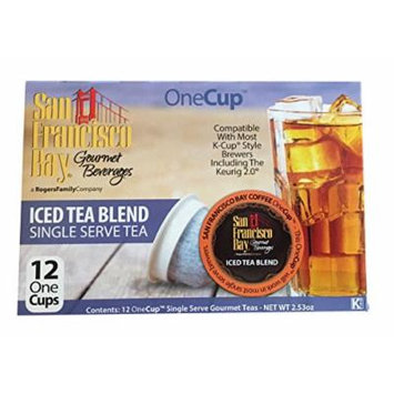 San Francisco Bay Iced Tea Blend 12 One Cups for Keurig K-Cup Brewers
