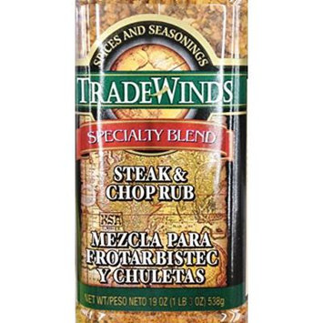 19oz Trade Winds Steak & Chop Rub (One Jar)
