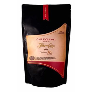 Cafe Flor de Caña Premium Ground Coffee, 12 Ounce Bag - From Nicaragua
