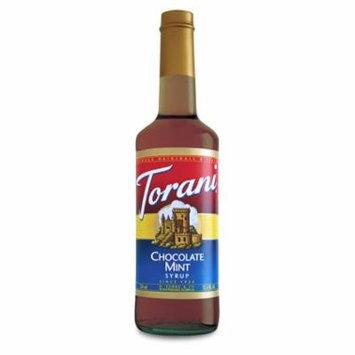 Torani Chocolate Mint Syrup (1 Single 750 ml bottle)