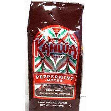 Kahlua Mocha Peppermint Gourmet Ground Coffee 12oz