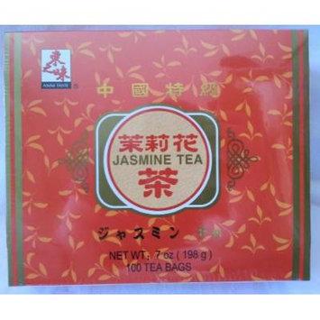 Jasmine Tea Box (100 Tea Bags) - 7 Oz.
