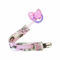 Booginhead Pacifier Leash - Pink Camo