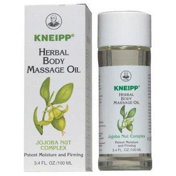 Kneipp Herbal Body Massage Oil Jojoba Nut Complex 3.4 fl oz/100ml