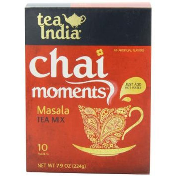Tea India Chai Moments Tea Mix, Masala, 7.9 Ounce