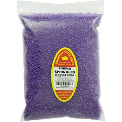 Marshalls Creek Spices Refill Pouch Sprinkles Seasoning, Purple, XL, 20 Ounce