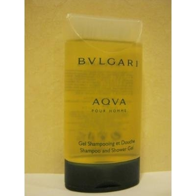 BVLGARI AQVA ~ Pour Homme - Shampoo and Shower Gel 2.5 Oz.