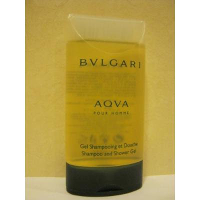 BVLGARI AQVA ~ Pour Homme - Shampoo and Shower Gel 2.5 Oz.