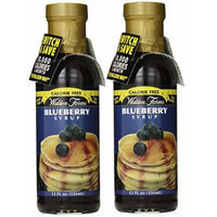 Walden Farms Blueberry Syrup 12oz (Pack of Two)