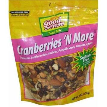 Good Sense Cranberries 'n More, 6-Ounce Bags (Pack of 12)