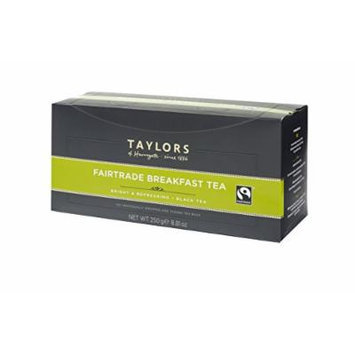 Taylors of Harrogate Wrapped Tea Bags, Fairtrade Breakfast, 100 Count
