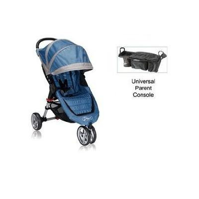 Baby Jogger City Mini Stroller WITH Parent Console (Blue/Gray)