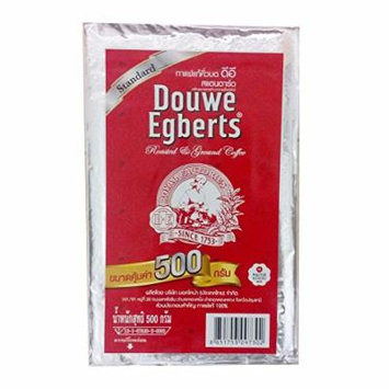 Foodkoncept Douwe Egberts Roasted Ground Coffee Standard 17.6 Ounce (500g)
