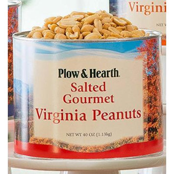 Extra Large Virginia Peanuts, 40 oz tin, in Salted