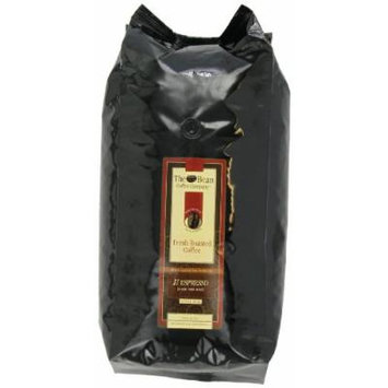 The Bean Coffee Company, Il Espresso (Classic Dark Roast) Whole Bean Cofee, 5-Pound Bags