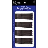 Diane Jumbo Bob Pins, Black, 40/card, 1 pack