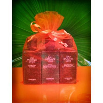 Hermes Eau d'Orange Verte Gift Set: 1.35oz Each of Shampoo, Conditioner and Body Cleansing Gel in a Gift Bag!