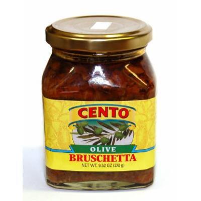 Cento - Olive Bruschetta (Muffuletta), (2)- 9.7 oz. Jars