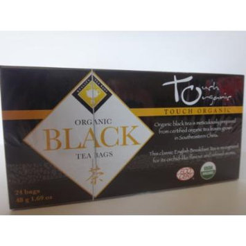 TOUCH ORGANIC Black Tea USDA Organic (24 tea bags)