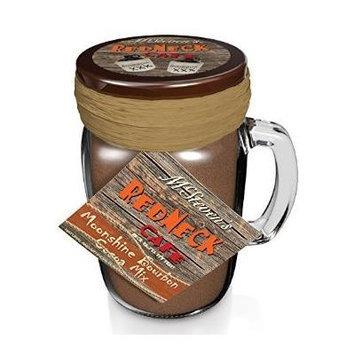 Redneck Cafe Drinkin' Jar Moonshine Bourbon Cocoa Mix in a Jar Mug