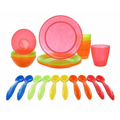 Munchkin 15 Piece Feeding Set with BONUS 10 Pack Infant Feeding Spoons