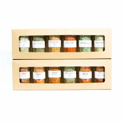 Whole Spice Jar Gift Set, Blends and Seasoning, 8 Pound