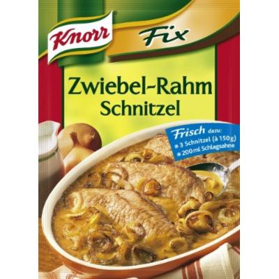 Knorr® Fix Onion-cream Schnitzel